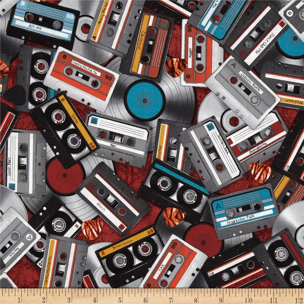 All Amped Up Cassette Tapes Red