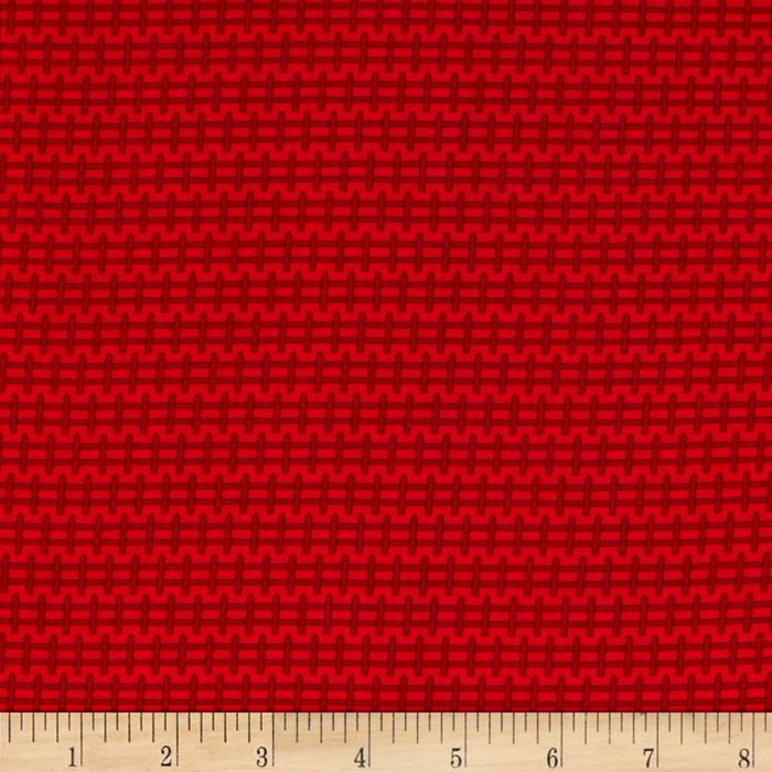 Apple Hill Farm Fence Red
