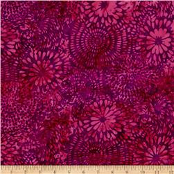 Island Batik Desert Rose Mixed Mums Purple/Fushcia