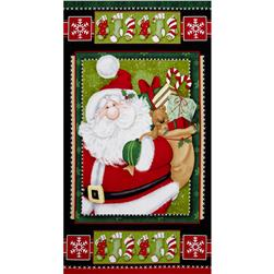 Kringle Krossing 24 In. Panel Multi