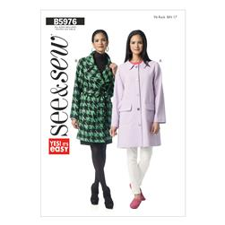 Butterick Misses' Jacket Pattern B5976 Size 0A0