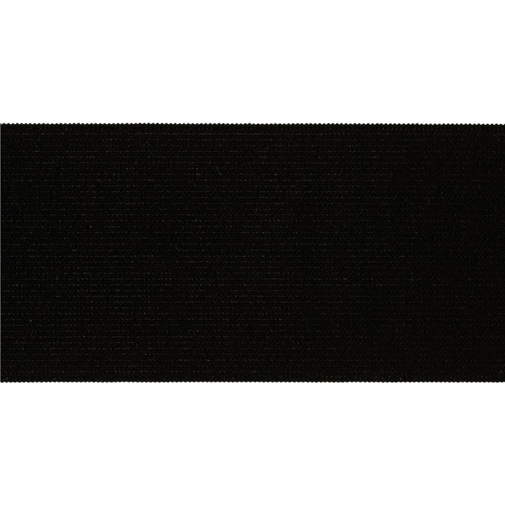 "2""X8 Knit Elastic Black"