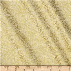 Homespun Holiday Metallic Believe Gold