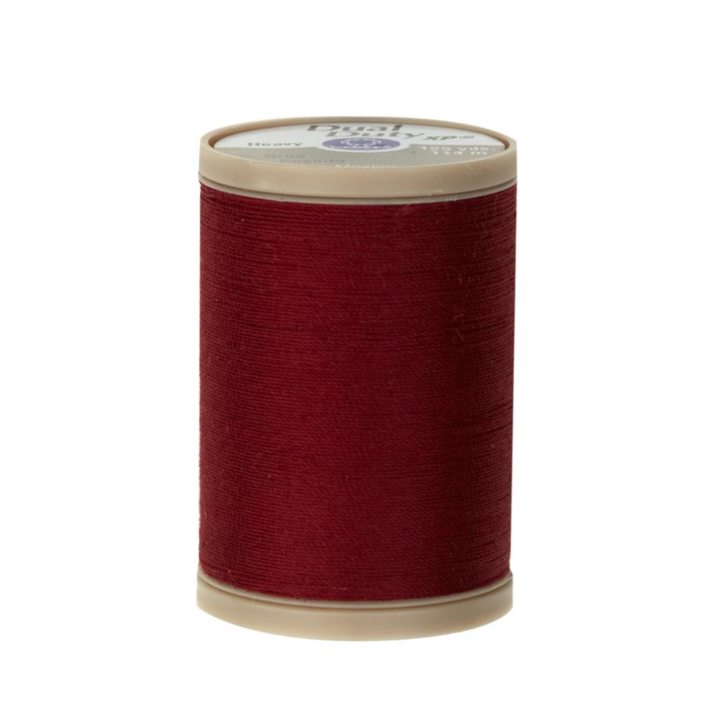 Coats & Clark Dual Duty XP Heavy 125yd Barberry Red