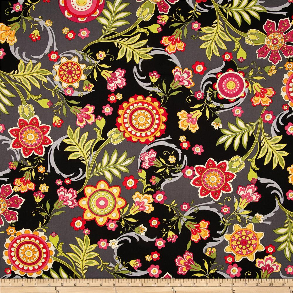 Anthology II Floral Black