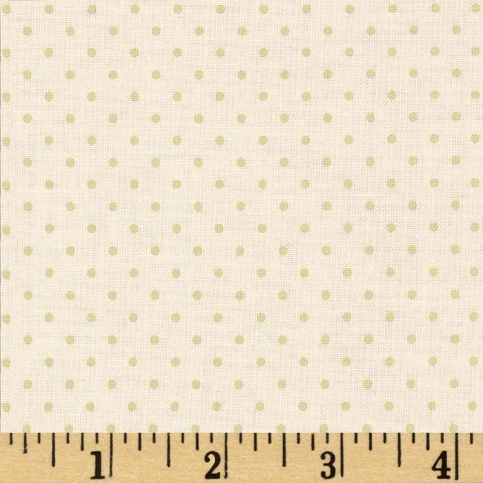 Riley Blake Cream on Cream Swiss Dot