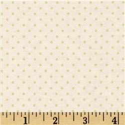 Riley Blake Cream on Cream Swiss Dot Fabric