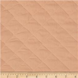 Double Sided Quilted Broadcloth Peach