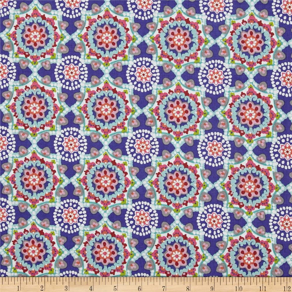 Paisleigh Starburst Regal Blue