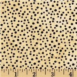 Essentials Petite Dots Ivory/Black