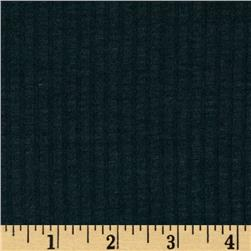 Stretch Rayon Blend 2 x 1 Rib Knit Cadet Blue