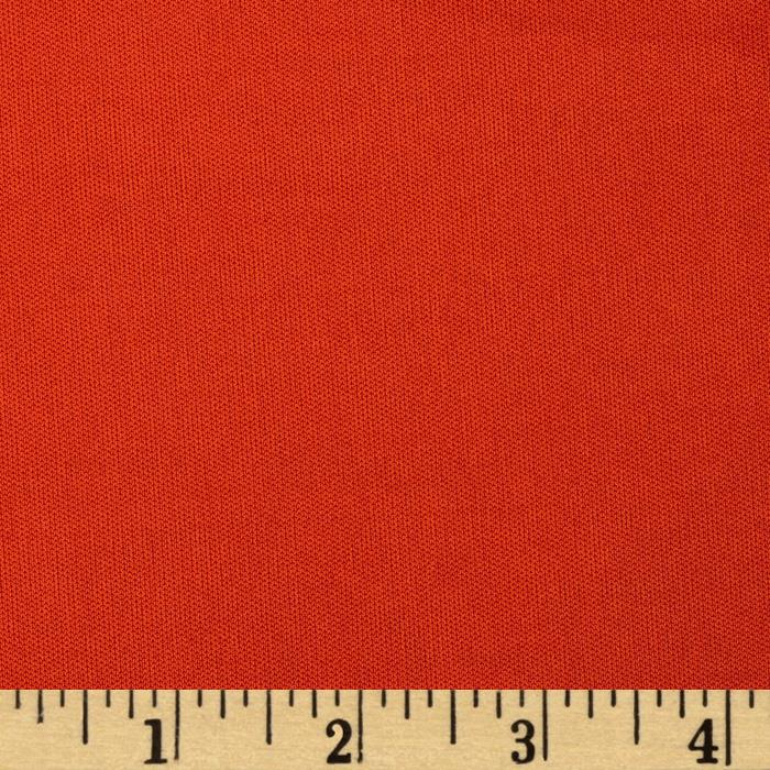 Poly Single Knit Burnt Orange