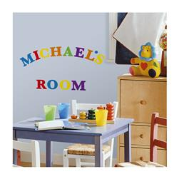 Letters Wall Decals/Colors