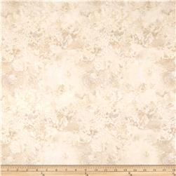 "108"" Wide Essentials Quilt Back Cosmos Cream Tan"