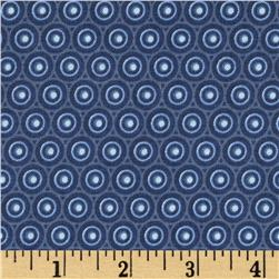 Splash Radial Dot Navy