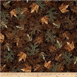 On The Wild Side Flannel Forest Ground Brown