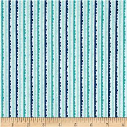 Riley Blake Snapshots Stripes Blue Fabric
