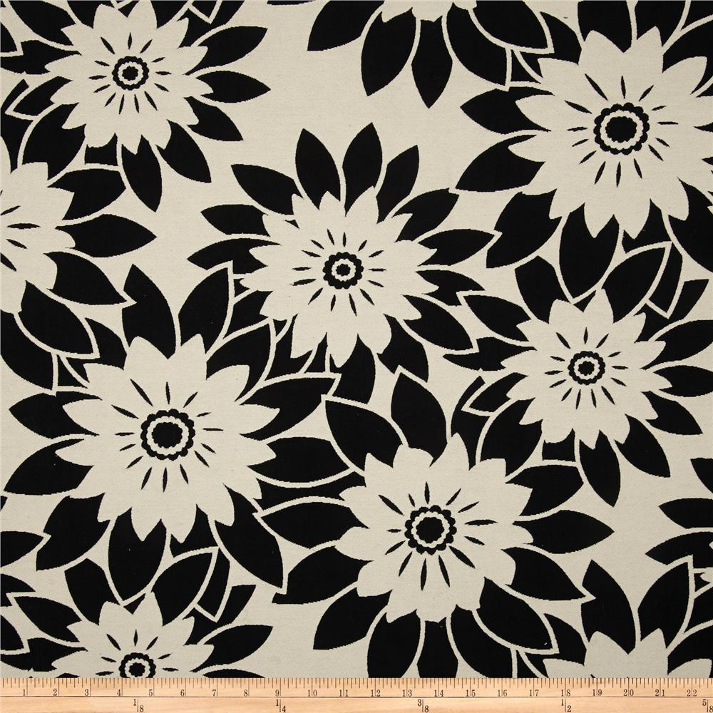 HGTV Home Pop Art Jacquard Onyx