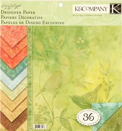 Susan Winget Nature Designer 12''x12'' Double Sided Paper Pad 36 Sheets