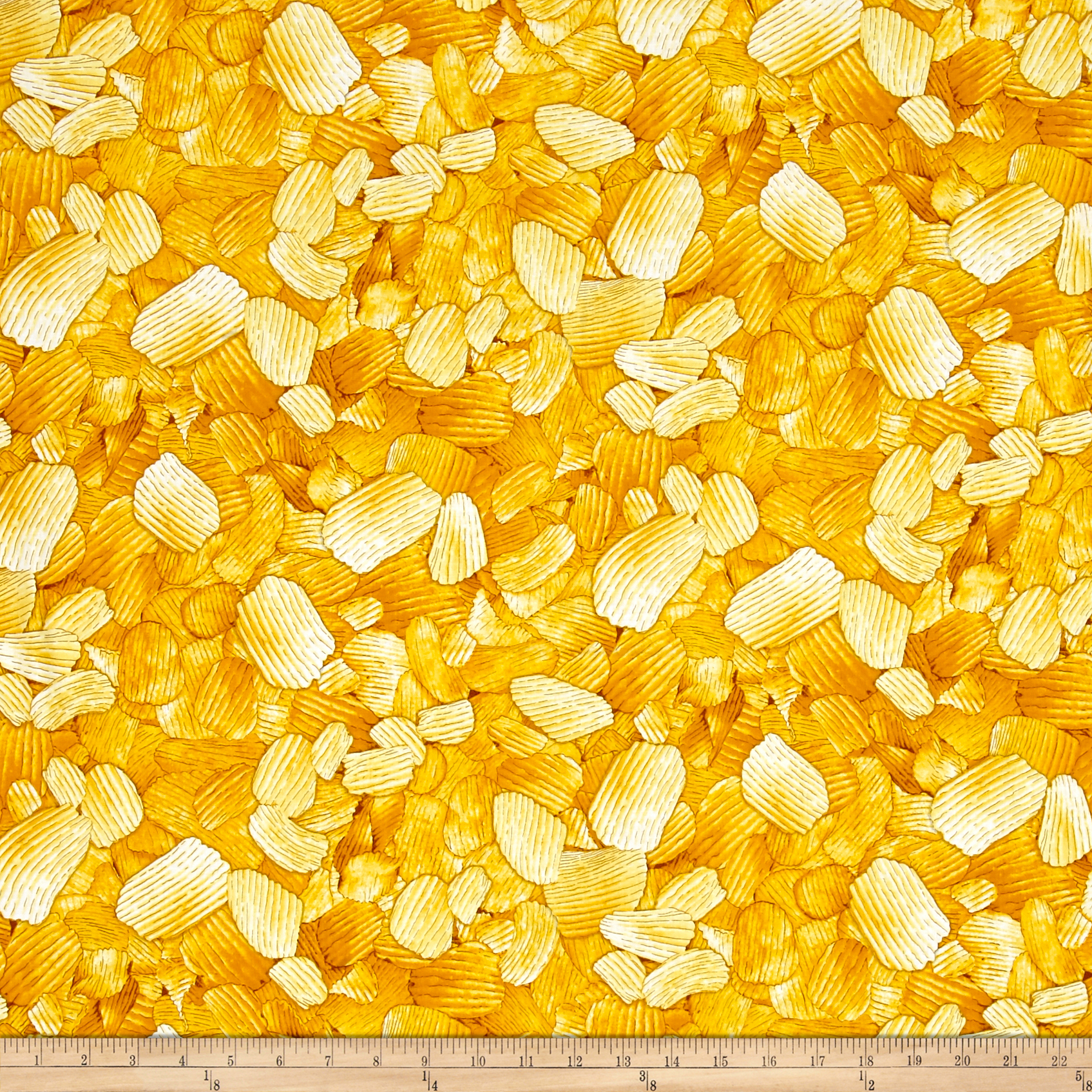 Image of Timeless Treasures Foodie Chips Chip Fabric