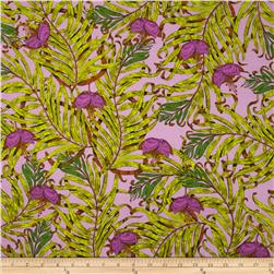 The Garden of Earthly Delights Palms Purple