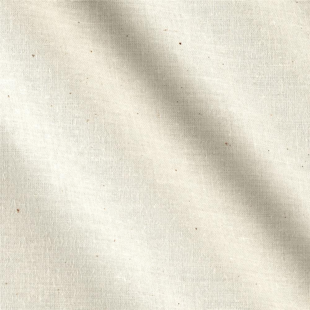 108'' Roc-Lon Unbleached Muslin Natural