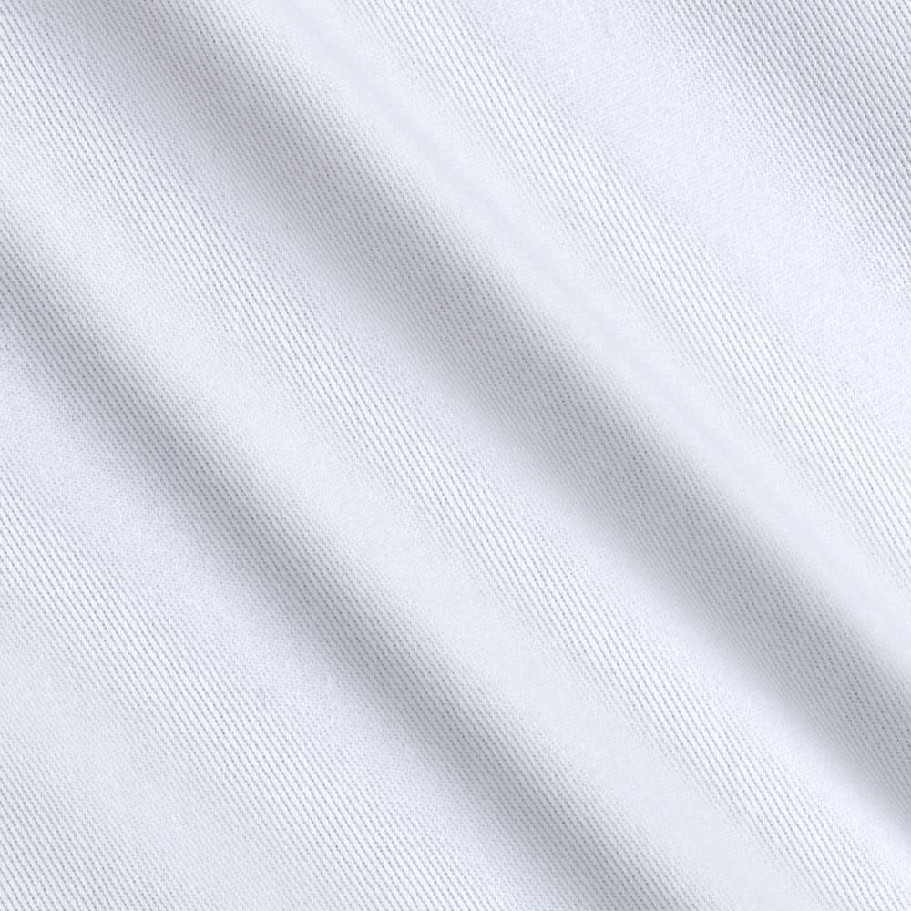 Kaufman Hampton Twill White