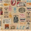 Kaufman Heirloom Diary Collage Antique