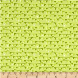 Riley Blake Tree Party Banner Green