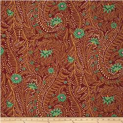 Kaffe Fassett Spring 2017 Ferns Brown