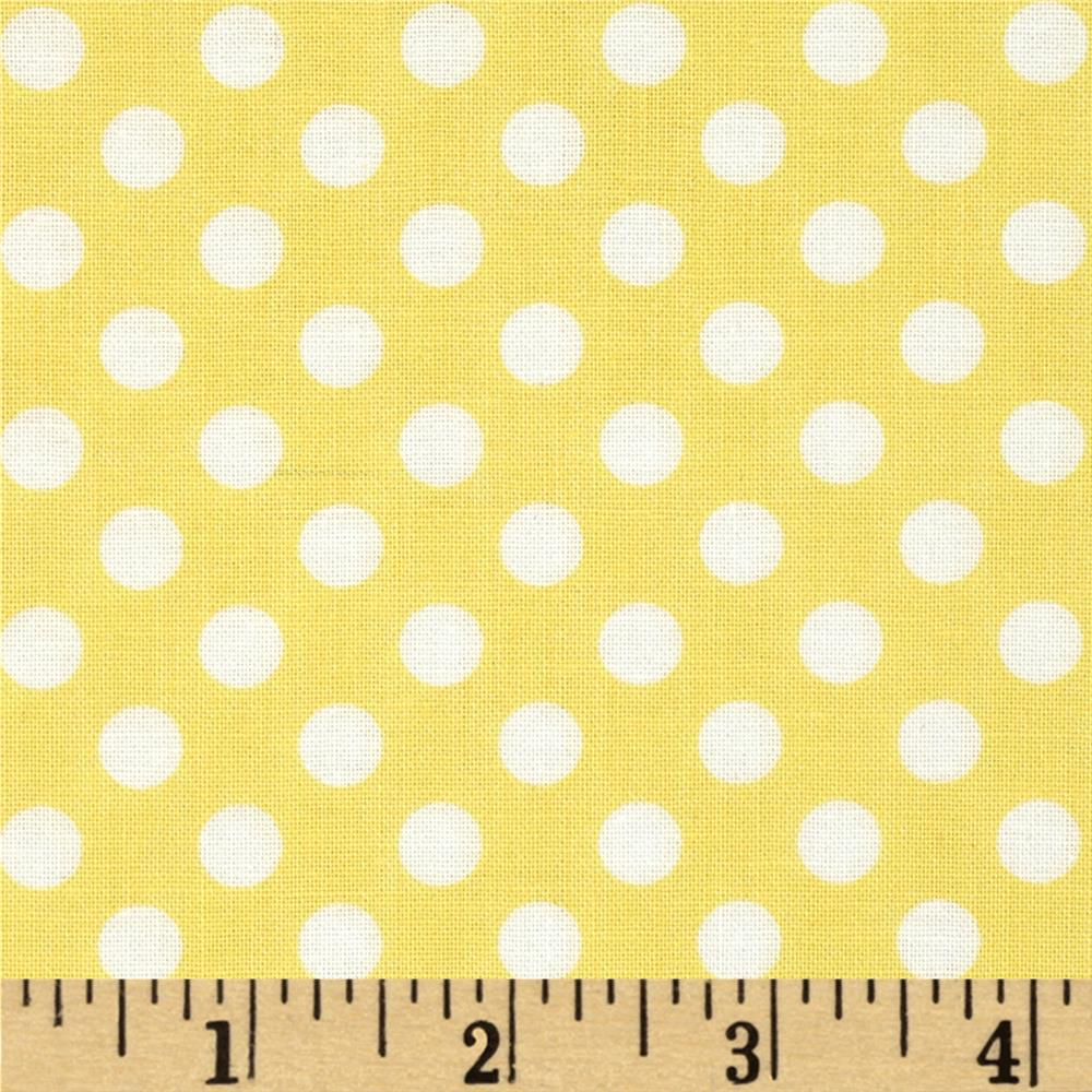 Eggcellent Adventure Dots Yellow/White