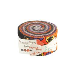 Moda Pumpkin Party 2 1/2'' Jelly Roll