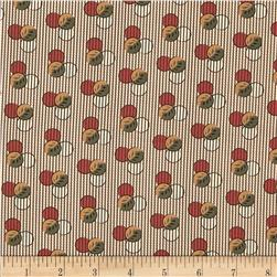 Molly B's 1800's Simply Harvest Dot on Stripe