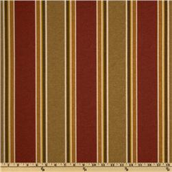Maco Indoor/Outdoor Echo Stripe Garnet