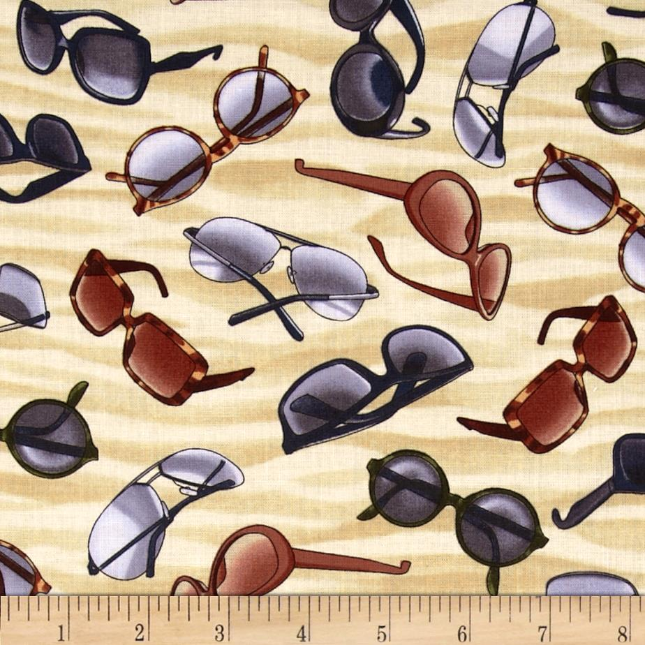 Timeless Treasures Beach Pass Sunglasses Sand