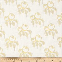 Timeless Treasures Charleston Metallic Art Deco Cream
