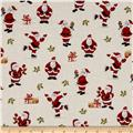 Metallic Christmas Santa Metallic Cream
