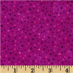 Essentials Brights Petite Dots Plum