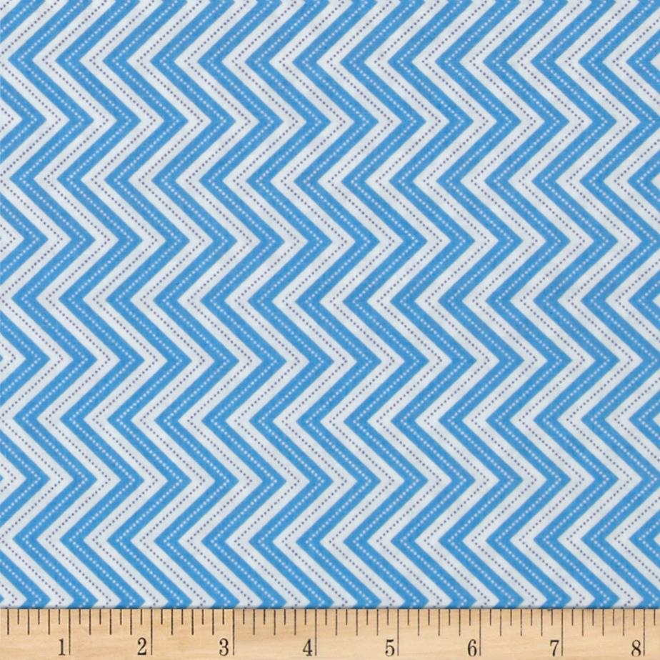 Moda from bump to baby blue discount designer fabric for Cheap baby fabric