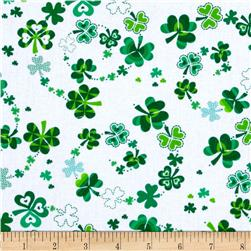 Kanvas Celebrations Lucky Clover White