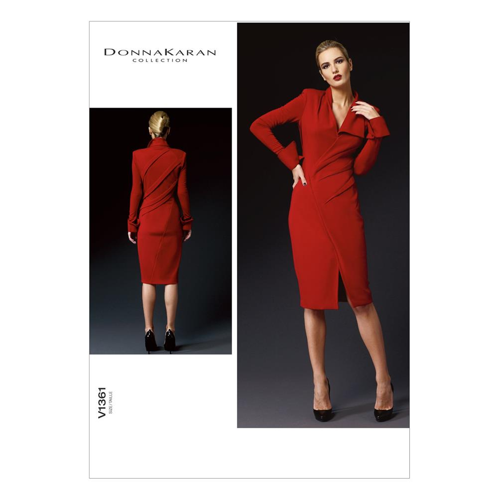 Vogue Misses' Dress Pattern V1361 Size AX5