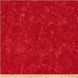 Wilmington Batiks Sparklets Cherry Red
