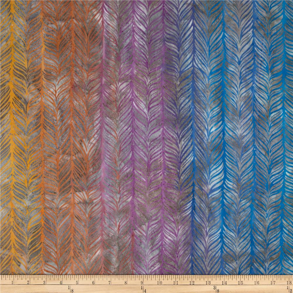 Artisan Batiks Elementals Horizontal Feather Cabana