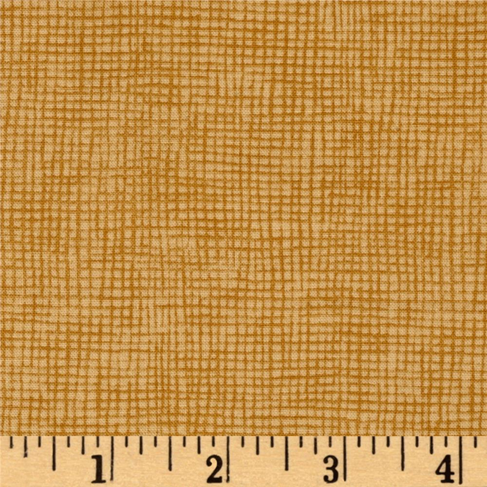 Moda Welcome Fall Burlap Weave Acorn Tan
