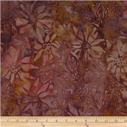 Batik by Mirah Rum Raisin Florals Gwalior Brown