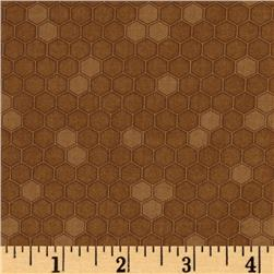 Let it Bee Honeycomb Brown