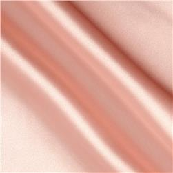 Poly Charmeuse Satin Peach