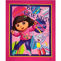 Nickelodeon Dora the Explorer One Hip Explorer Panel Pink