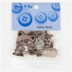 Dress It Up Embellisment Buttons  Feline Fancy