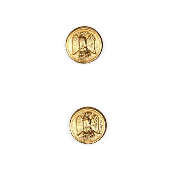 "Metal Button 5/8"" Jefferson Gold"